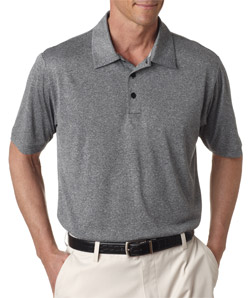ADIDAS A163 - ClimaLite Heathered Polo