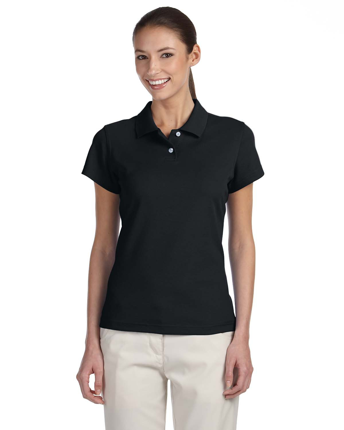 ADIDAS A85 - Ladies' ClimaLite Pique Polo