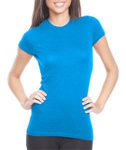 Bayside 4990 - Ladies' Fashion Jersey Tee