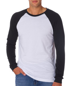 Bella 3000 - Men's Baseball Jersey Tee