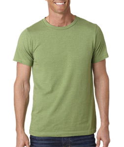 Bella 3001H - Men's Heather Jersey Short-Sleeve Tee