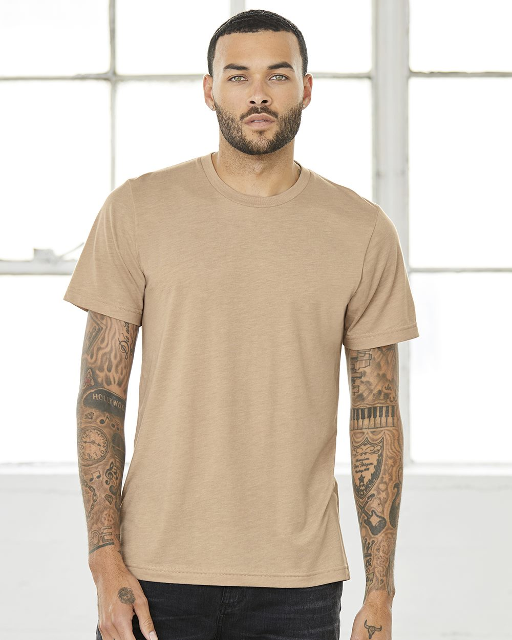 Bella + Canvas 3413 - Unisex Triblend Short Sleeve Tee