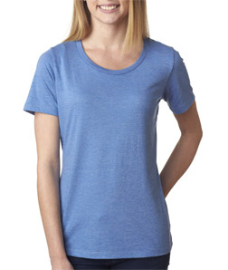 Bella 6406 - Missy Short-Sleeve Scoop-Neck Tee