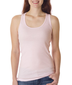 Canvas 4070 - Ladies' 2 X 1 Rib Racerback Longer Length Tank