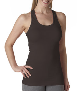 Canvas 8770 - Ladies' Sheer Mini-Rib Racer-Back Tank