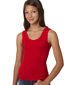 Canvas 9080 - Girls Baby Rib Tank