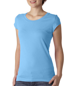 Canvas B8101 - Ladies' Sheer Jersey Short-Sleeve Tee