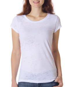 Canvas B8601 - Ladies' Burnout Short-Sleeve Tee
