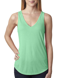 Canvas B8805 - Ladies' Flowy V-Neck Tee