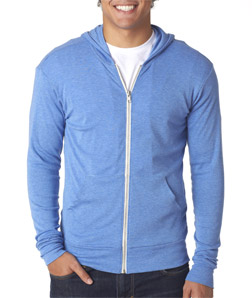Canvas C3939 - Unisex TriBlend Full-Zip Lightweight ...