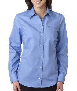 Dickies FL036 - Ladies' Long-Sleeve Stretch Poplin Shirt
