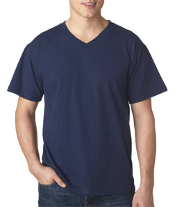 Fruit of the Loom 3930V - Adult Heavy Cotton HD V-Neck ...