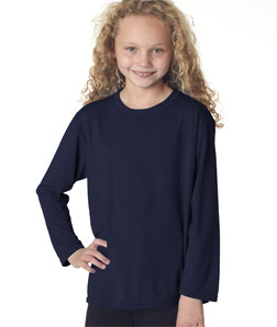 Gildan 42400B - Youth Performance Long-Sleeve T-Shirt