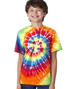 Gildan 71 - Tie-Dye Youth Swirl Tie-Dye Tee
