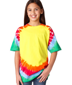 Gildan 74B - Tie-Dye Youth Teardrop Tee