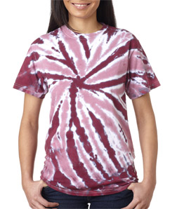 Gildan 77 - Tie-Dye Adult One-Color Pinwheel Tee