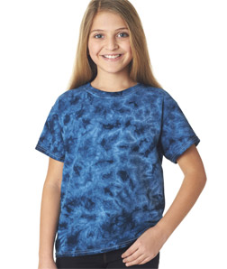 Gildan 83B - Youth Crystal Tie-Dyed Tee