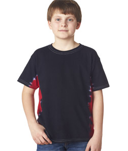 Gildan 84B - Youth T-Bone Tie-Dyed Tee