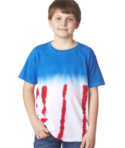 Dyenomite 20BUS - Youth Patriotic Flag Tee