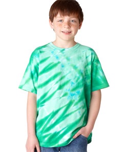 Gildan 95B - Tie-Dye Youth Tiger Stripe Tee