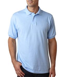 Hanes 恒适 054X 成年人舒适混合平纹布 PoloT恤