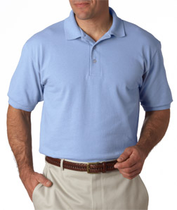 Hanes 055X - Adult ComfortSoft Pique Polo