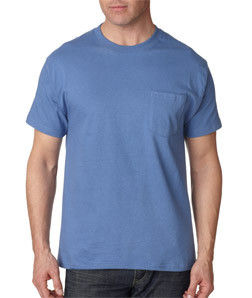 Hanes 5190 - Adult Beefy-T with Pocket