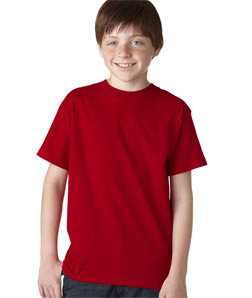 Hanes 5380 - Youth Short-Sleeve Beefy-T