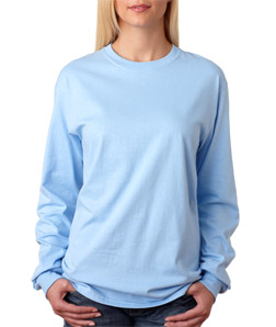 Hanes 5586 - Adult Tagless Long-Sleeve T-Shirt