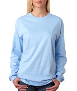 Hanes 5586 - Adult Tagless Long-Sleeve T-Shirt