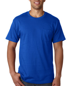 Hanes 5590 - Adult Tagless Pocket T-Shirt