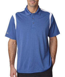 IZOD Z0095 - Adult Contrast Color Body Mapping Polo