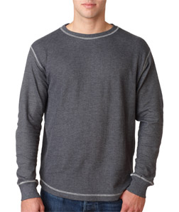 J-America J8238 - Adult Vintage Long Sleeve Thermal ...