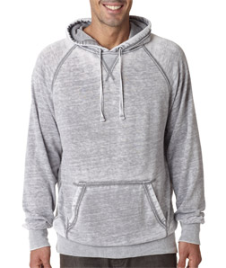 J-America J8915 - Adult Vintage Zen Pullover Hooded Fleece