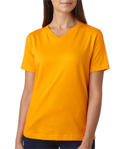 LAT 3587 - Ladies' V-Neck T-Shirt