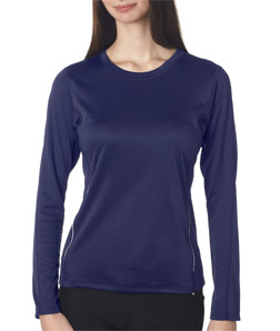 New Balance NB9119L - Ladies' Tempo Long-Sleeve Performance ...