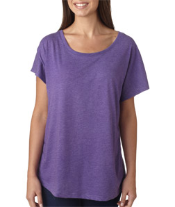 Next Level 6760 - Ladies' Tri-Blend Dolman