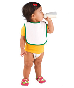 Rabbit Skins R1003 - Infant Terry Snap Bib