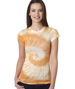 Tie Dye 1455 - Juniors' Sublimation-Dyed Tee