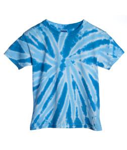 Tie Dye H1100B - Youth Twist Pinwheel Tie-Dyed Tee