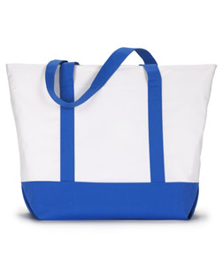 Ultra Club 7006 - Zippered Tote Bag