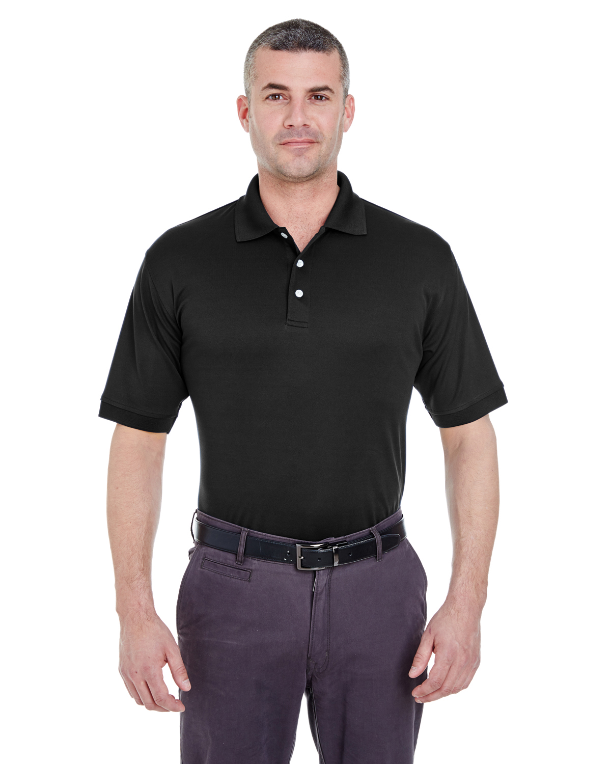Ultra Club 8315 - Men's Platinum Performance Pique Polo ...