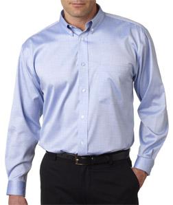 Ultra Club 8380 - Men's Non-Iron Pinpoint Shirt