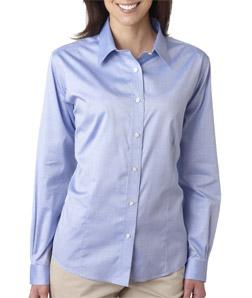 Ultra Club 8381 - Ladies' Non-Iron Pinpoint Shirt