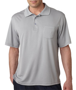 Ultra Club 8405P - Adult Cool & Dry Sport Polo with ...