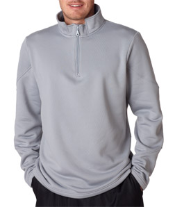 Ultra Club 8440 - Adult Cool & Dry Sport 1/4-Zip Fleece