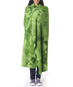 Ultra Club 8483 - UltraClub Tie-Dyed Fleece Blanket