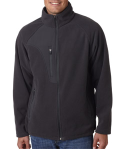 Ultra Club 8495 - Adult Full-Zip Micro-Fleece Jacket ...