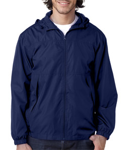 Ultra Club 8935 - Adult Micro-Poly Full-Zip Jacket with ...