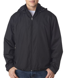 Ultra Club 8938 - Adult Micro-Poly Fleece-Lined Jacket